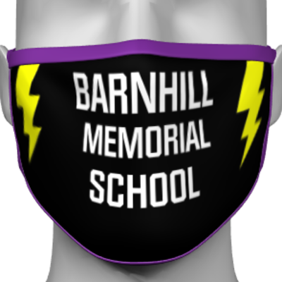 BARNHILL MIDDLE SCHOOL PPE FACE MASK