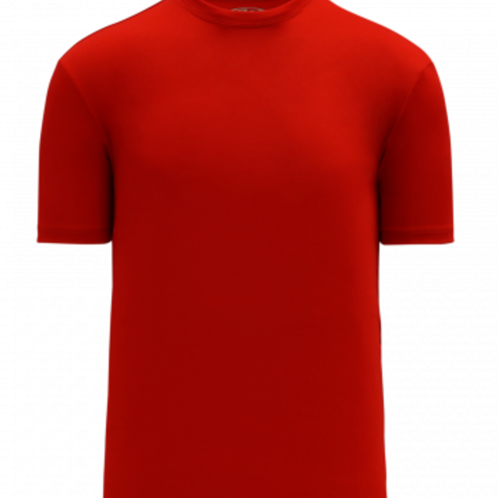 ATHLETIC KNIT AK A1800M JERSEY RED LARGE