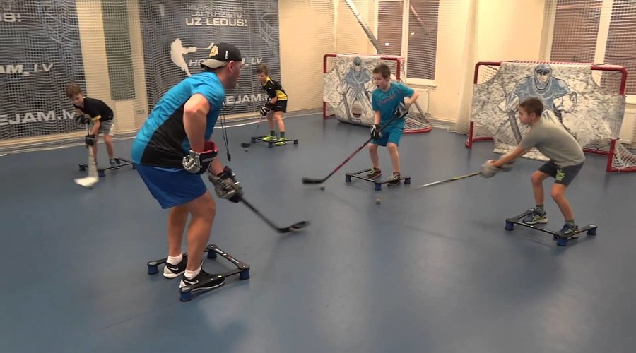 5 OFF-ICE DRILLS TO IMPROVE YOUR STICKHANDLING AND SHOOTING SKILLS AT HOME
