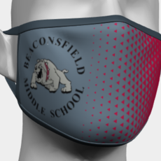 BEACONSFIELD MIDDLE SCHOOL PPE FACE MASK