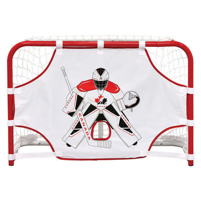 WINNWELL HOCKEY CANADA PROFORM MINI QUIKNET W/ 2 STICKS AND BALL