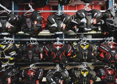 Hockey Shoulder Pads