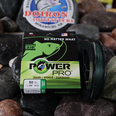 SHIMANO CANADA LTD POWERPRO 50LB  X 300 GREEN