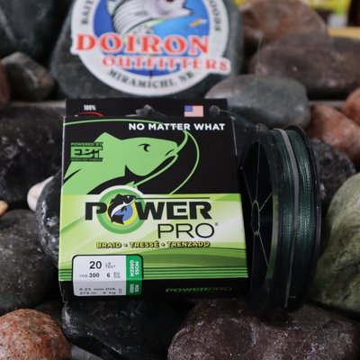 SHIMANO CANADA LTD POWERPRO 20LB X 300 GREEN