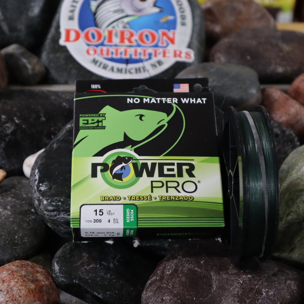 SHIMANO CANADA LTD POWERPRO 15LB  X 300 GREEN