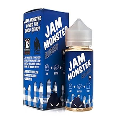Jam Monster Jam Monster Blueberry-100ml