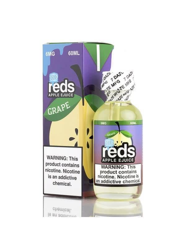 7 Daze 7 Daze Reds Apple Grape Juice Iced-60ml