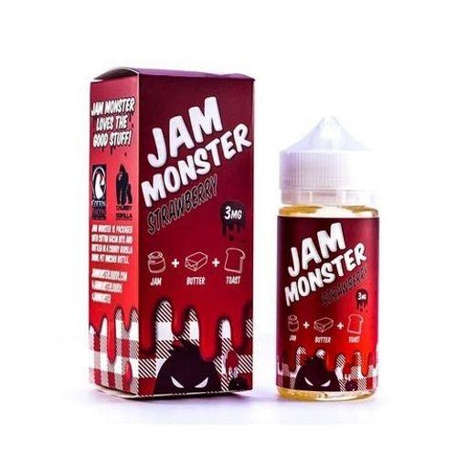 Jam Monster Jam Monster Strawberry-100ml