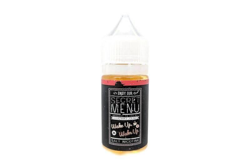 Milkshake Liquid Secret Menu Salt Wake up Wake Up-30ml