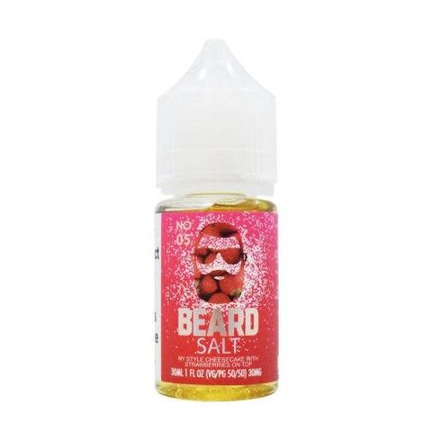 Beard Salts Beard Salts No. 05 NY Strawberry Cheesecake-30ml