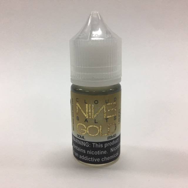 Cloud 9 Cloud 9 Salts Gold-30ml