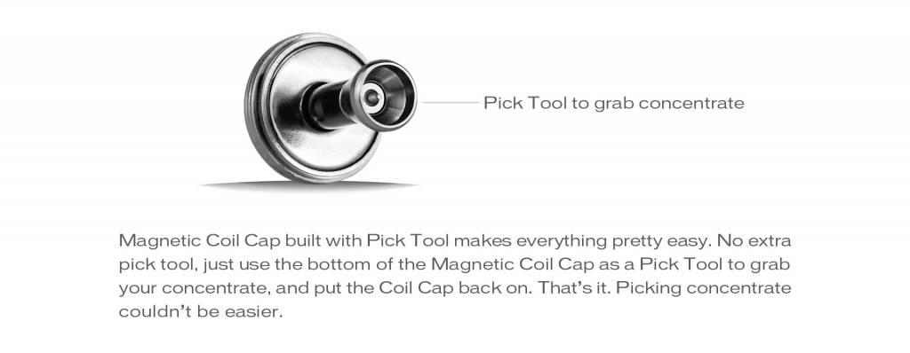 Yocan Yocan Magneto Wax Vaporizer Vape Pen Starter Kit