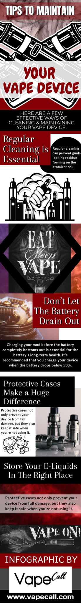 Tips To Maintain Your Vape Device