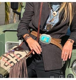 Etcity Large Navajo Buckle and Belt