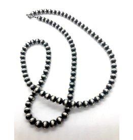 60'' 5mm Navajo Pearls Necklace