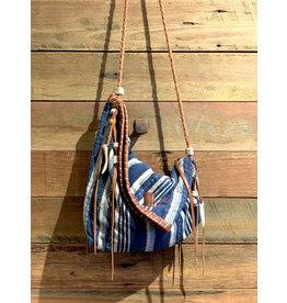 Kaia Bag Indigo Faded Stripes