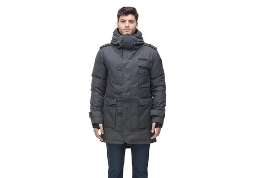 Nobis Shelby Men's Military Parka Steel Grey