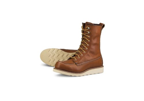 Red Wing Shoes Womens 8-Inch Moc Oro Legacy 3427