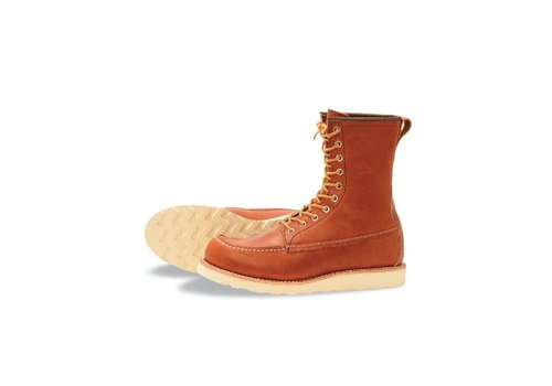 Red Wing Shoes Mens 8-Inch Classic Moc 877