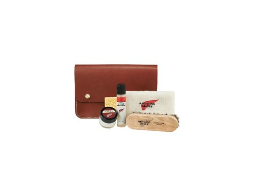 Red Wing Shoes Leather Travel Care Kit 97093