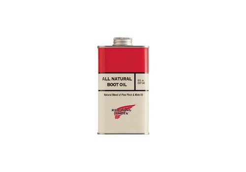 Red Wing Shoes All Natural Boot Oil 97103