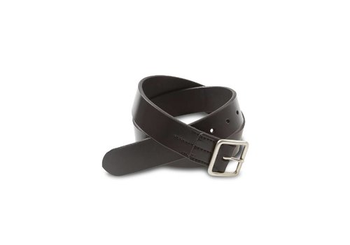 Red Wing Shoes Black Vegetable Tanned Leather Belt 96564
