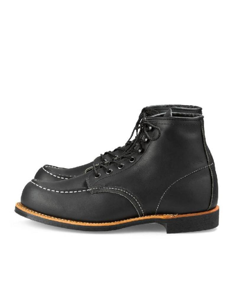 Moc Red Leat Cooper 2964 Mens Black Wing deroBCx