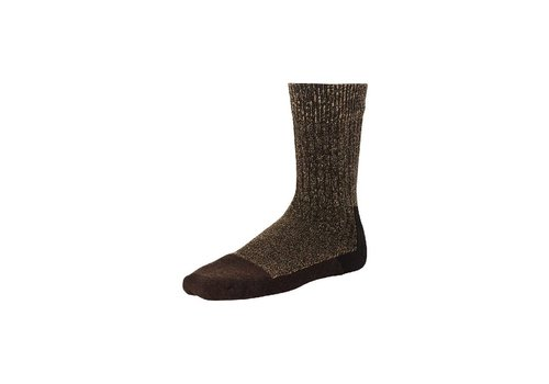 Red Wing Shoes Brown Deep Toe Capped Wool - Sock 97173