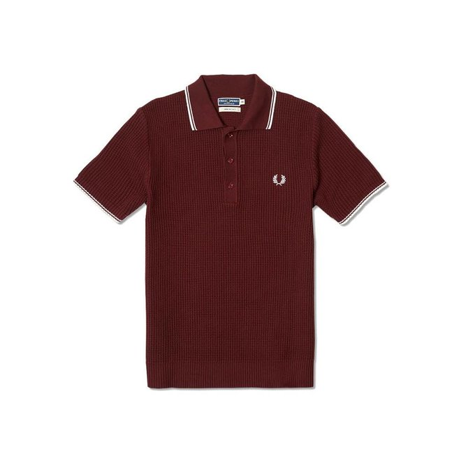 Fred Perry Fred Perry Textured Knitted Polo K4146 122
