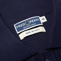 Fred Perry Textured Knitted Polo K4146-608