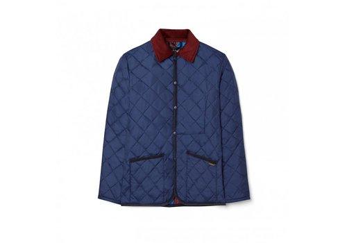 Lavenham Raydon Harbour blue Jockey Silks Maroon UK9001-0039