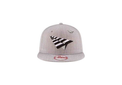 Paper Planes The Crown Old School Grey Boy Snapback 0017H706