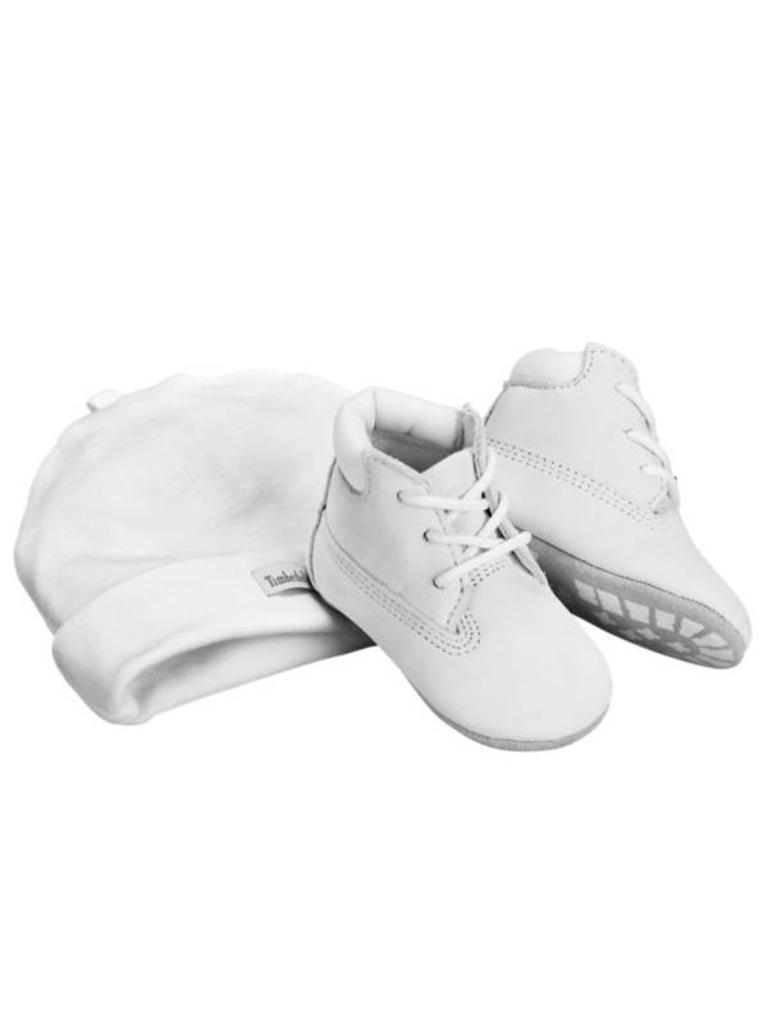 c008ad75e6db7 Infant Crib Booties / Cap Set A1LUE - The One