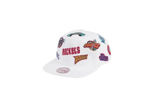 Mitchell and Ness All-Over Deadstock West Snapback