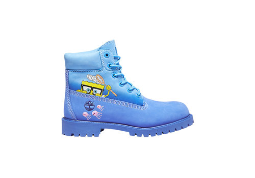 Timberland Junior SpongeBob SquarePants X Timberland 6-Inch Waterproof Boots TB0A22M7J45