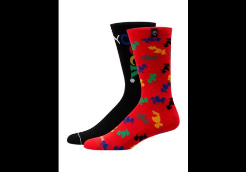Puma PUMA x FASHION GEEK Men's Crew Socks [2 Pack] 928731-01