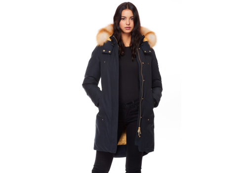 Moose Knuckles Moose Knuckles Navy Grand Metis Parka M39LP203GH-412