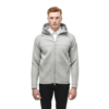 Nobis Men's Zip Front Hoody IAN Grey