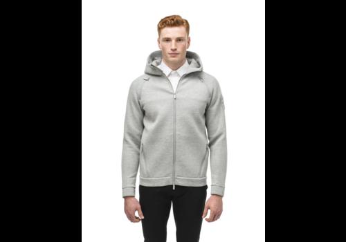 Nobis Men's Zip Front Hoody IAN Grey
