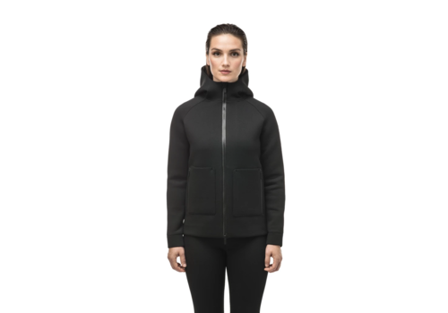 Nobis Ladies Zip Front Hoody MINA Black