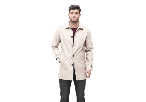 Nobis Mens Traditional Mac CLAYTON Camel