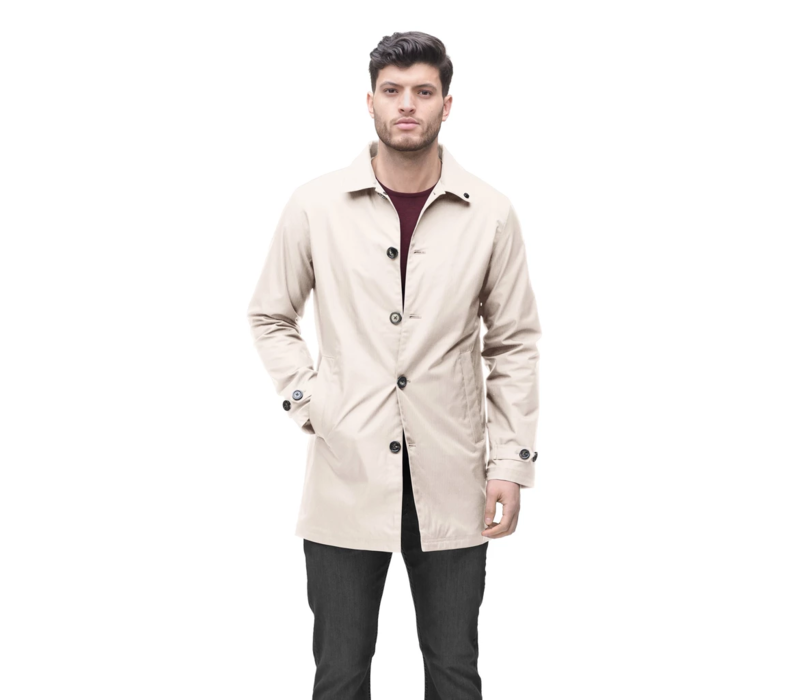 Mens Traditional Mac CLAYTON Camel