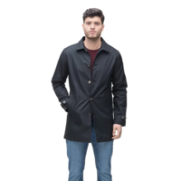Mens Traditional Mac CLAYTON Black