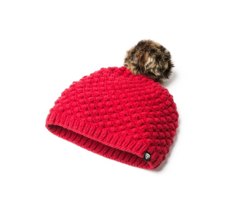 Whitney Ladies Bulky Toque Red