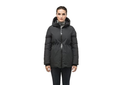 Nobis Viola Ladies Reversible Puffer Jacket Black