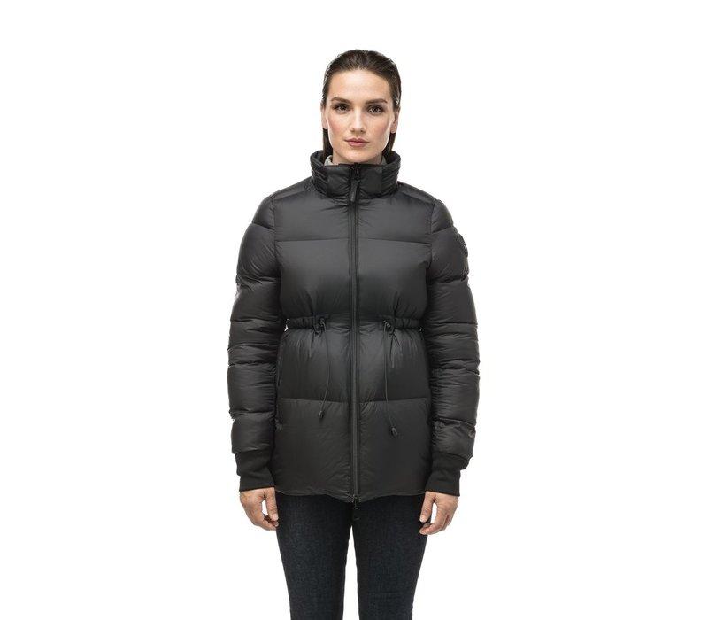 Viola Ladies Reversible Puffer Jacket Black