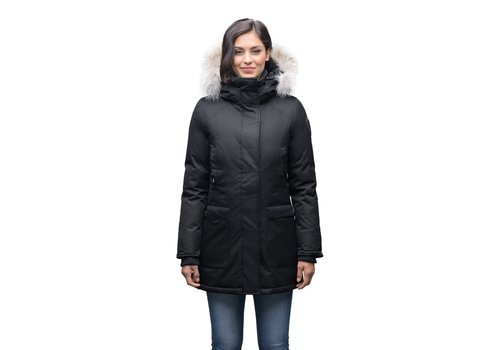 Nobis Carla Ladies Parka Black