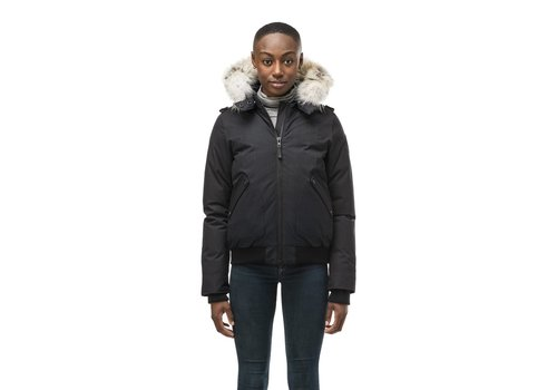 Nobis Harlow Ladies Bomber Jacket Black