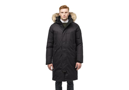 Nobis Will Men's Knee Length Parka Black