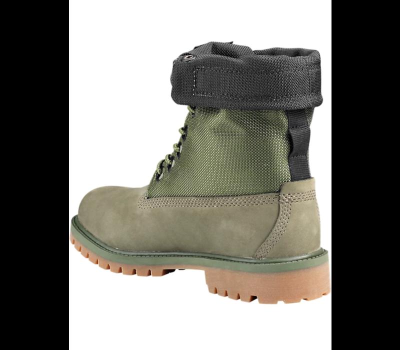 Junior Mixed-Media Gaiter Boots TB0A25C6A58